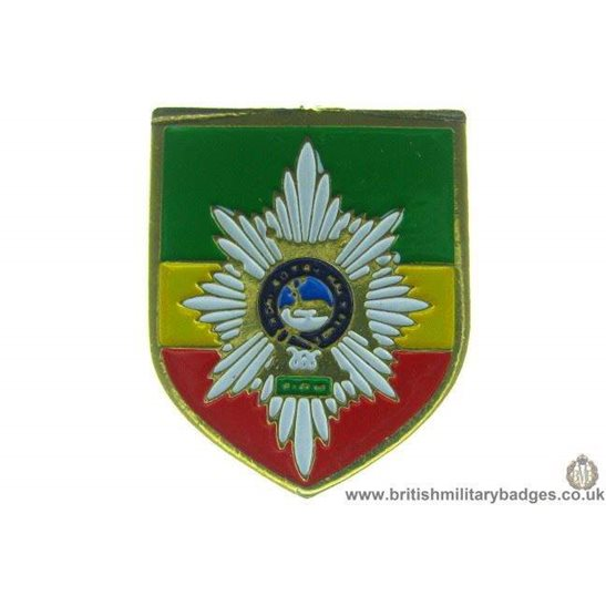 S1A/15 Worcestershire & Sherwood Forresters Regiment Lapel Badge
