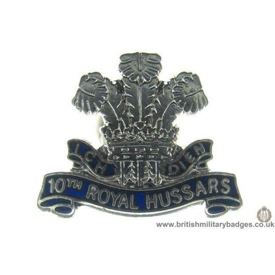 S1A/17 - 10th Royal Hussars Regiment Lapel Badge