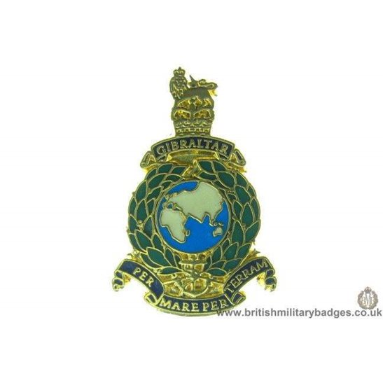 S1A/20 - Royal Marines Corps Regiment Lapel Badge
