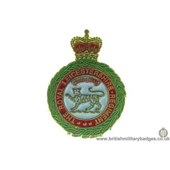 S1A/23 - The Royal Leicestershire Regiment Lapel Badge