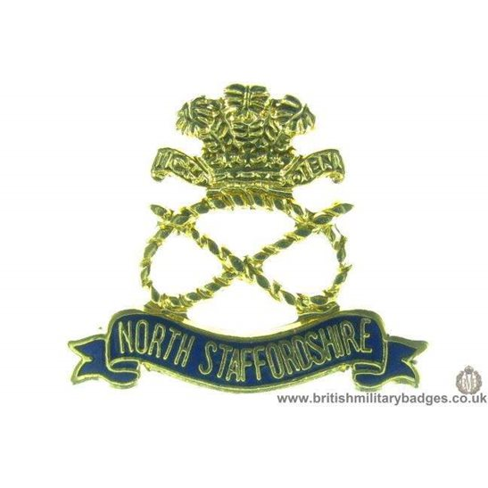 S1A/28 - North Staffordshire / Stafford Regiment Lapel Badge