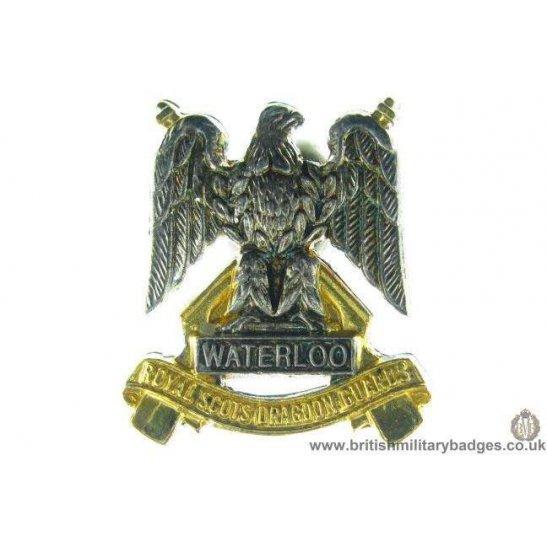 S1A/31  Royal Scots Dragoon Guards Scottish Regiment Lapel Badge