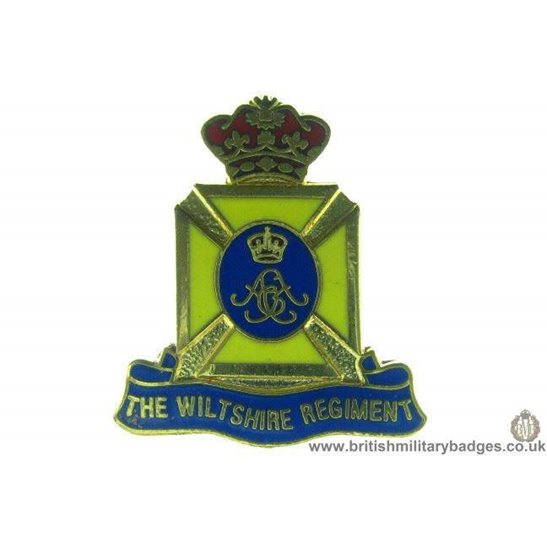 S1A/35 - The Wiltshire Regiment Lapel Badge