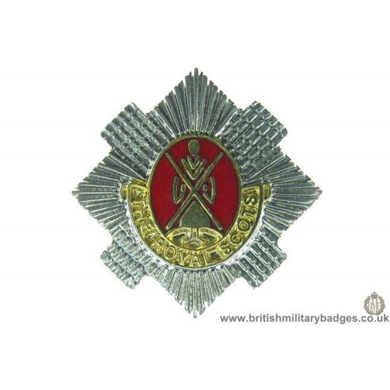 S1A/40 - The Royal Scots Regiment Scottish Lapel Badge