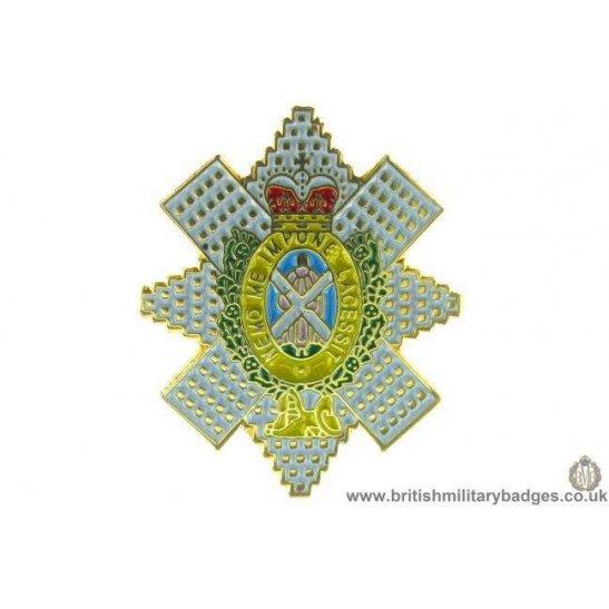 "S1A/38 - The Royal Highland ""Blackwatch"" Regiment Lapel Badge"