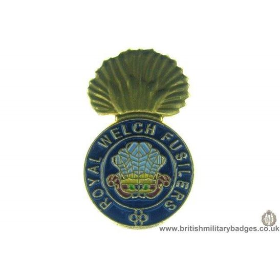 S1A/39 - The Royal Welch Regiment Welsh Lapel Badge