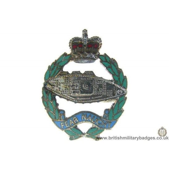 S1A/50 - The Royal Tank Regiment Lapel Badge