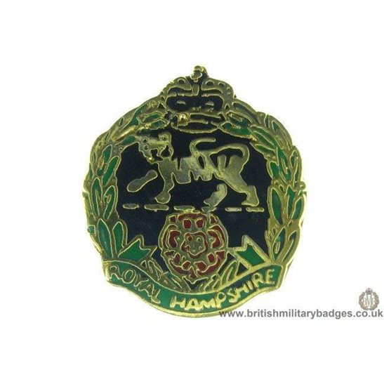 S1A/51 - Royal Hampshire Regiment Lapel Badge