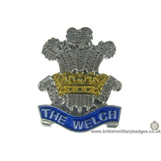 S1A/54 - The Welch Regiment Welsh Lapel Badge