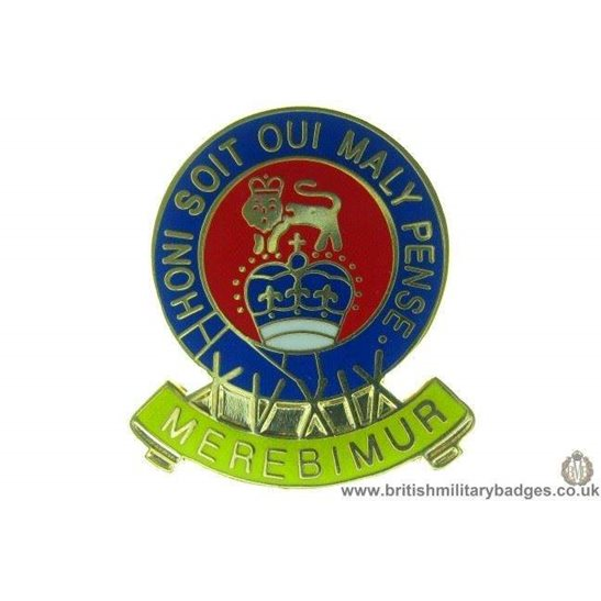 S1A/55 - 15th / 19th Hussars Regiment Lapel Badge