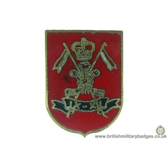 S1A/68 - 9th / 12th Lancers Regiment Lapel Badge