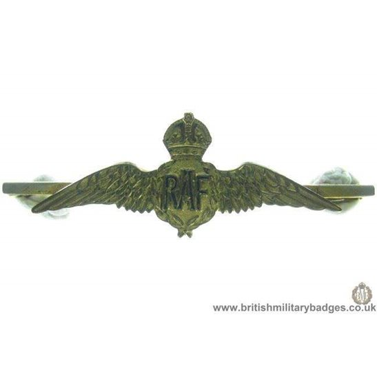 H1A/39: Royal Air Force RAF Sweetheart Brooch