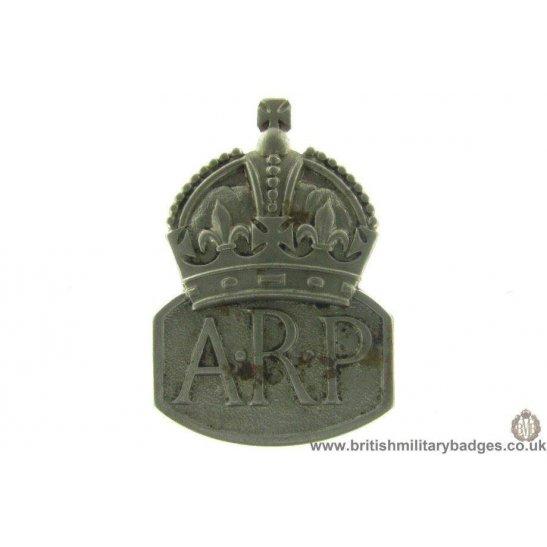 J1A/15: WW2 Air Raid Precaution ARP Lapel Badge