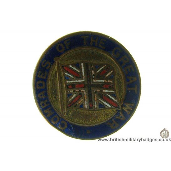 J1A/19: Comrades of the Great War Veterans Lapel Badge