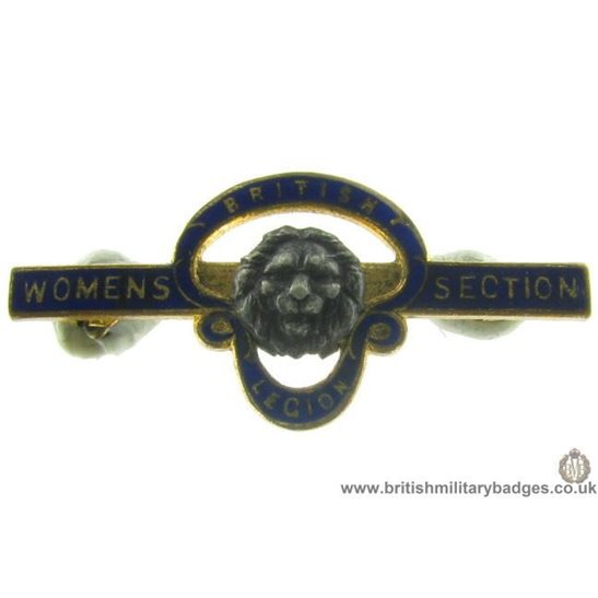 J1A/23: Royal British Legion Womens Section Pin Badge