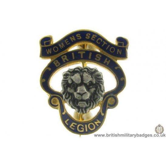 J1A/27: Royal British Legion Womens Section Pin Badge
