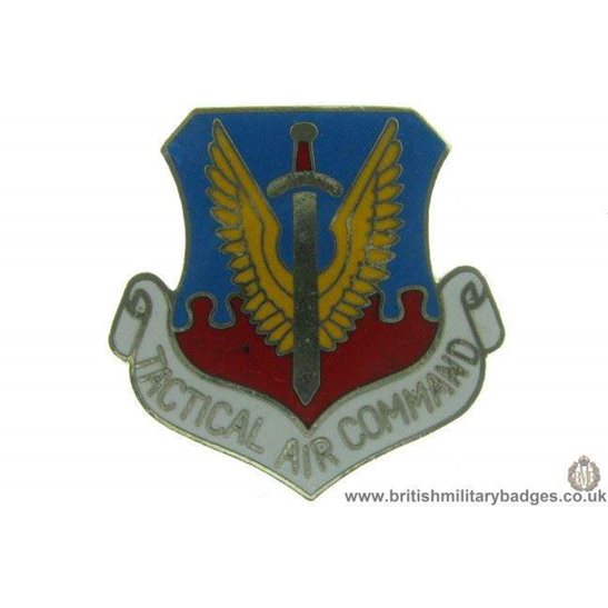 S1A/91 - Tactical Air Command TAC RAF Lapel Badge