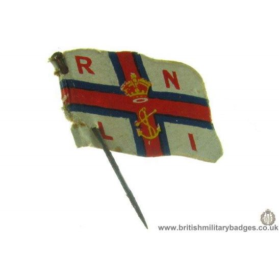 K1B/03 Royal National Lifeboat Institute RNLI Flag Day Pin Badge