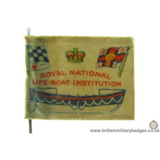 K1B/09 Royal National Lifeboat Institute RNLI Flag Day Pin Badge