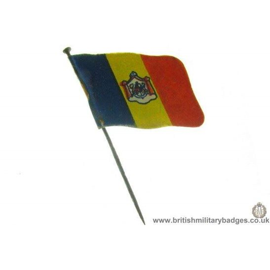 K1B/22 - WW1 Help Romania Fund Charity Flag Day Pin Badge