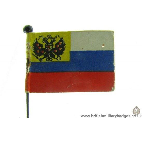 K1B/24 - WW1 Help Russia Fund Charity Flag Day Pin Badge