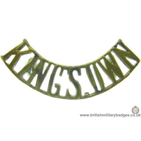 C1A/09 - Kings Own King's Regiment Shoulder Title