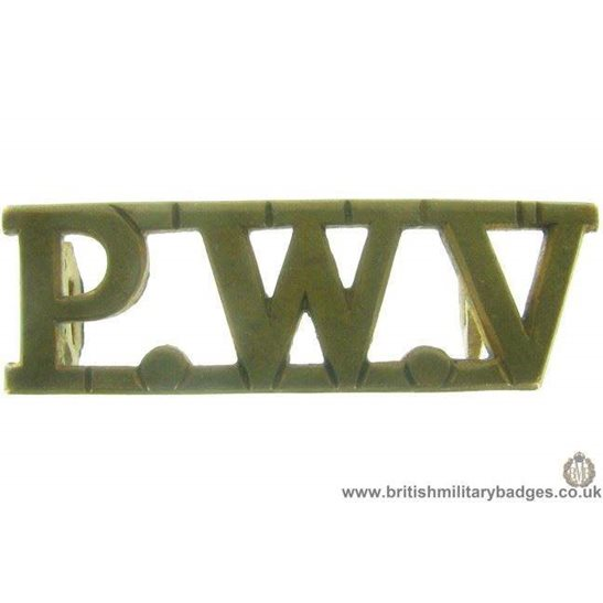 C1A/54 - Prince of Wales's Volunteers Lancashire Shoulder Title