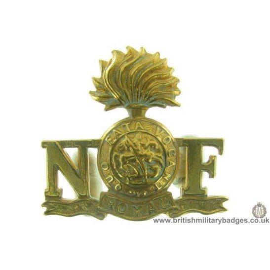C1A/88 - Royal Northumberland Fusiliers Regiment Shoulder Title