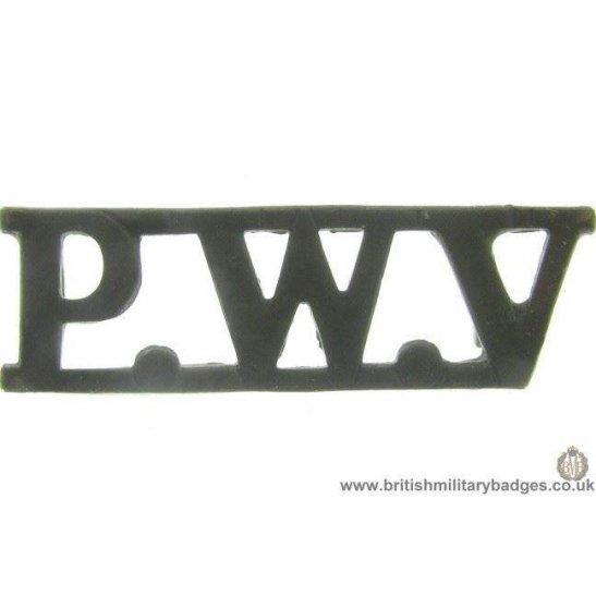 C1B/02 - Prince of Wales's Volunteers Lancashire Shoulder Title