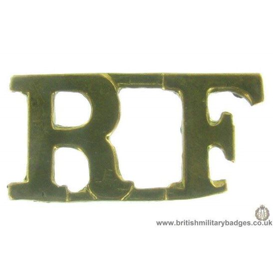 C1B/36 - Royal London Fusiliers Regiment Shoulder Title