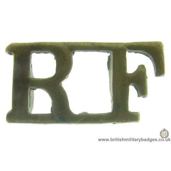C1B/63 - Royal London Fusiliers Regiment Shoulder Title