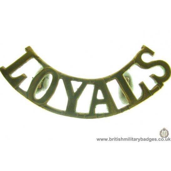C1C/16 - Loyal North Lancashire Regiment Shoulder Title