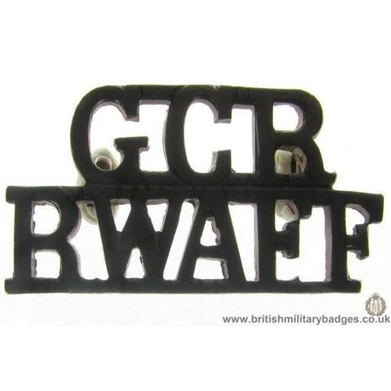 C1C/78 - Royal West African Frontier Force Shoulder Title