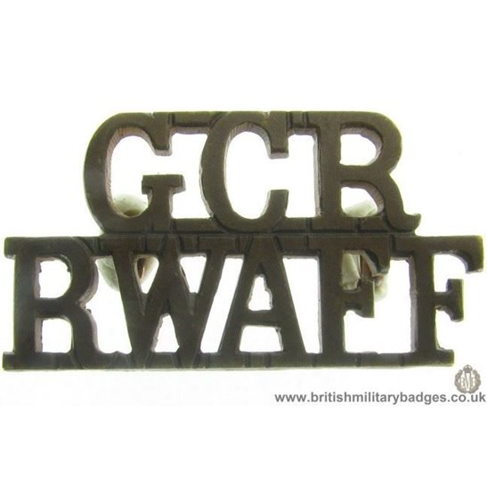C1C/85 - Royal West African Frontier Force Shoulder Title