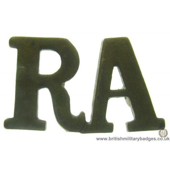 C1D/26 - Royal Artillery RA Shoulder Title