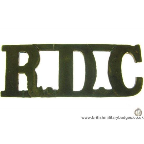 C1D/64 - Royal Defence Corps RDC Shoulder Title