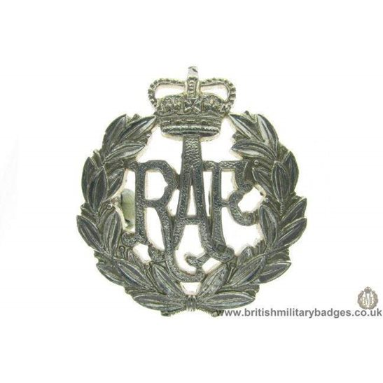 F1A/16 - Royal Air Force RAF Staybrite Cap Badge