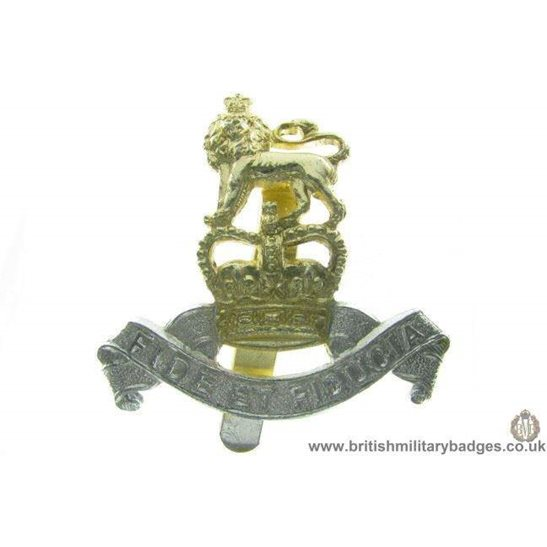 F1A/22 - Royal Army Pay Corps RAPC Staybrite Cap Badge