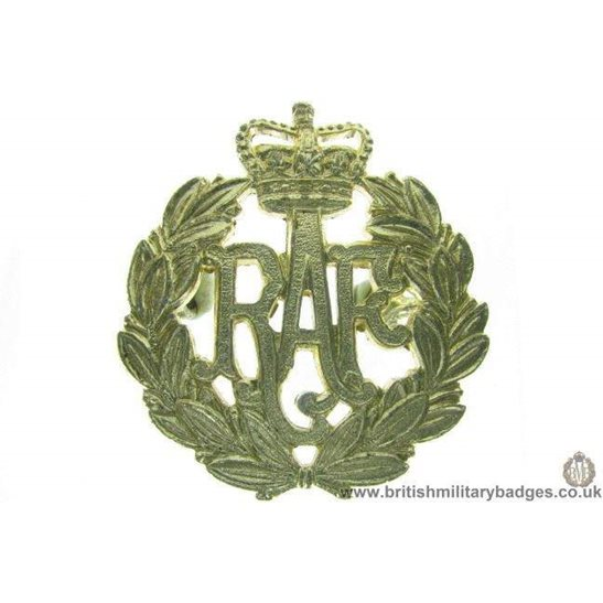 F1A/24 - Royal Air Force RAF Staybrite Cap Badge