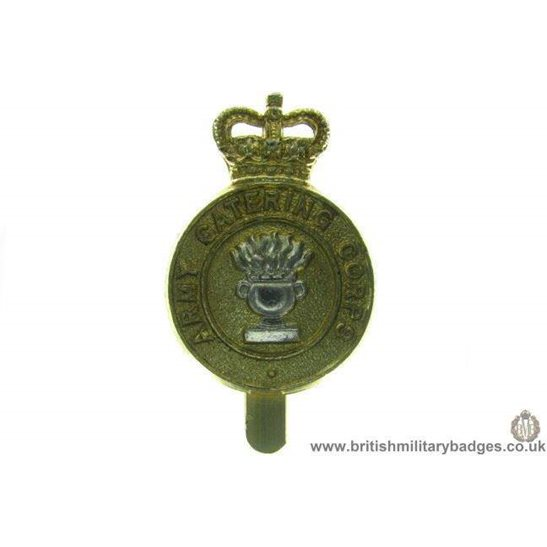 F1A/27 - Army Catering Corps Staybrite Cap Badge