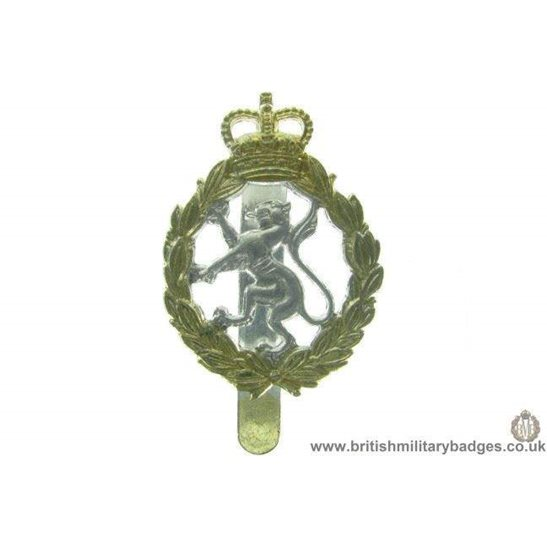F1A/41 - Womens Royal Army Corps WRAC Staybrite Cap Badge