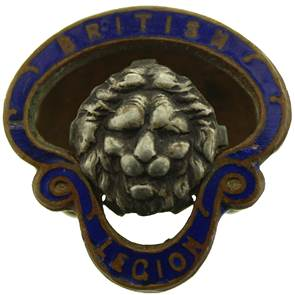 view British Legion Badges products