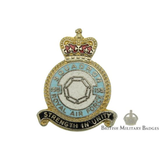 158 Squadron Royal Air Force Lapel Badge RAF