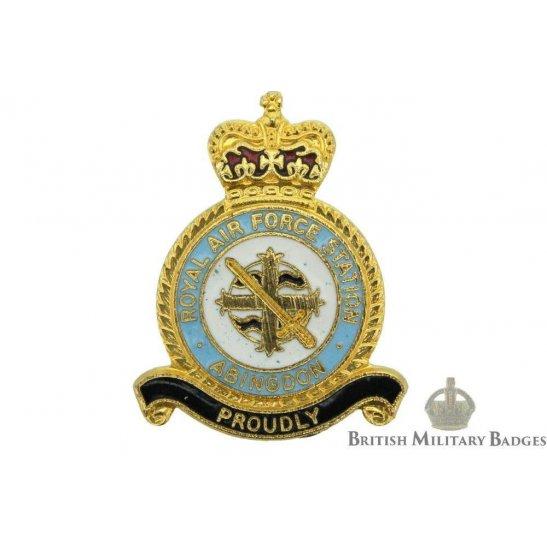 Abingdon Airport Station Royal Air Force Lapel Badge RAF