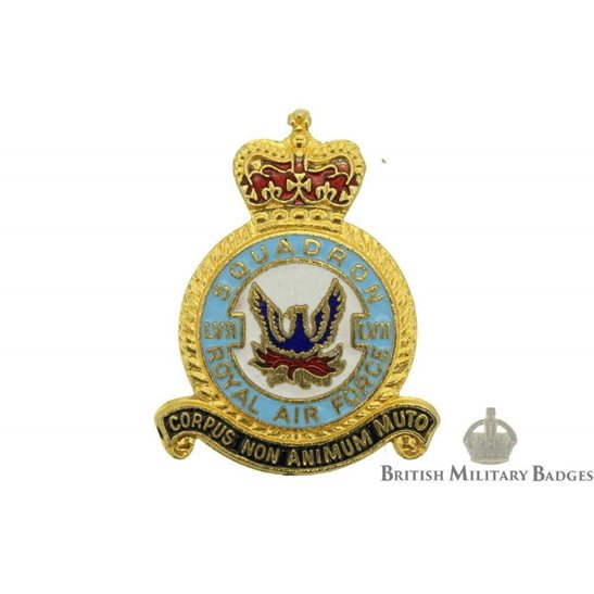 57 (LVII) Squadron Royal Air Force Lapel Badge RAF