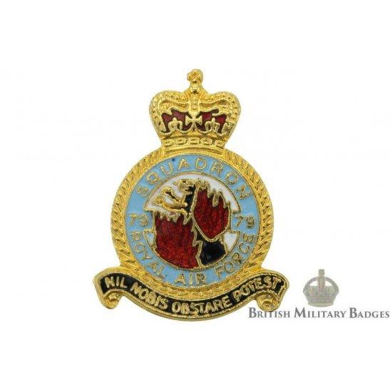79 Squadron Royal Air Force Lapel Badge RAF