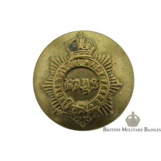 2nd Dragoon Guards (Queens Bays) Regiment Tunic Button - 25mm