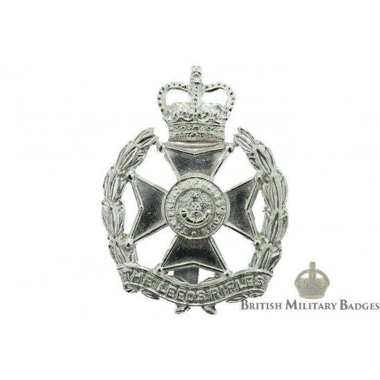 The Leeds Rifles Regiment Staybrite Cap Badge