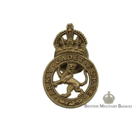 Army Cadet Force PLASTIC Lapel Badge - ACF