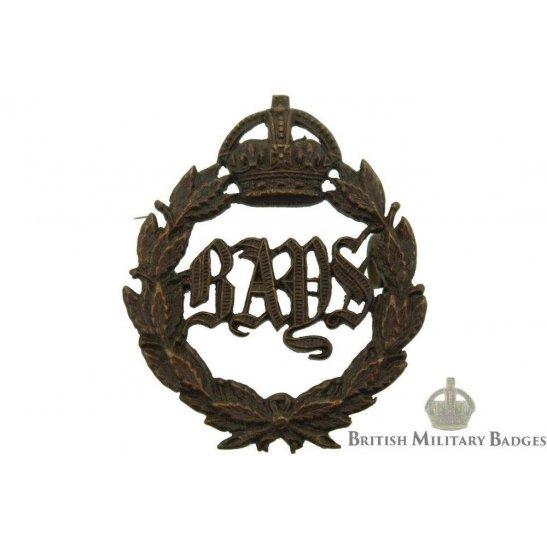2nd Dragoon Guards (Queens Bays) Regiment OFFICERS Bronze Collar Badge